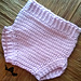 Sweet Pea Diaper Cover pattern