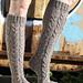 Lettikvartetti - Braid Quartet Socks pattern