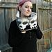 Sally Skulls Cowl pattern