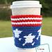 Stars and Strips Mug Cozy pattern