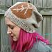 Laurel Leaf Slouch Hat pattern