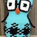 Laura Gingham Owl pattern