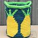 Practical Pineapples Basket pattern
