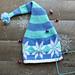 Snowflake Stocking Hat pattern