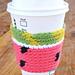 Watermelon Mug Cozy pattern