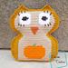 Pumpkin Belly Owl pattern