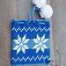 Dancing Snowflakes Gift Bag pattern
