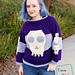Sally Skulls Sweater pattern