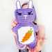 Carrot Belly Bunny Ami pattern