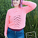 Evelyn Crop Top Sweater pattern