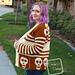 Sally Skulls Cardigan pattern