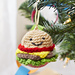 Happy Hamburger Ornament pattern