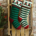 Holly & Berry Stockings pattern