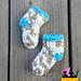 Chunky Baby Socks 0-6 Months pattern