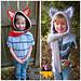 Wolf / Fox Scoodie pattern