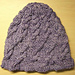 Twisted Lattice Cabled Hat pattern