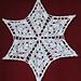 Evening Star Snowflake pattern