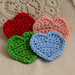 Heart applique pattern