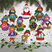 10 Christmas Favour Bags pattern