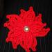 Simple Christmas Poinsettia pattern