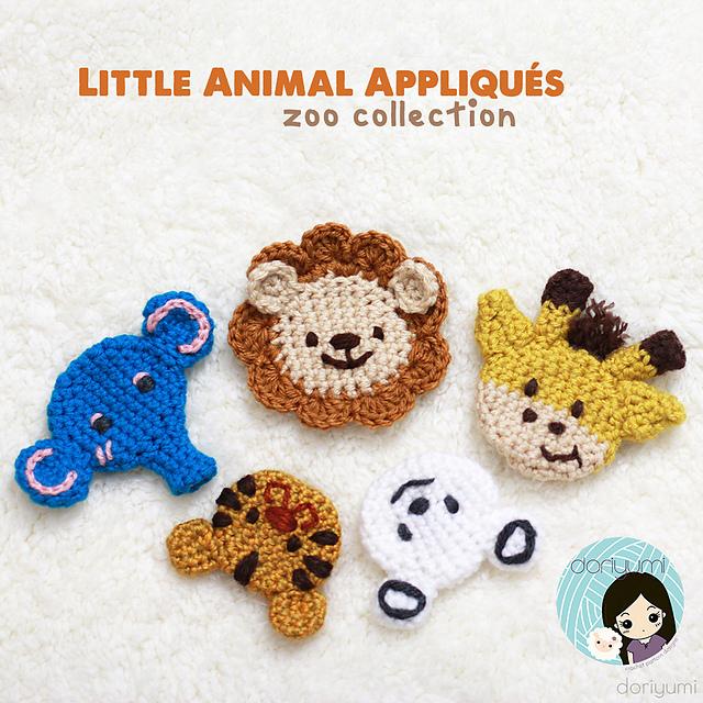 Zoo animals crochet pattern | 640x640