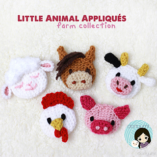 Farm Animal Amigurumi - Check out this cute collection of ... | 320x320