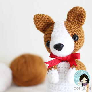 Toto the Corgi Amigurumi Pattern – Snacksies Handicraft | 320x320