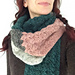 a 'woolly & warm & tres long' scarf pattern