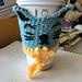 Lying Cat (Saga) Coffee Cozy pattern