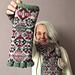 Smola Long Fingerless Gloves pattern