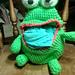Frog Belly bag pattern