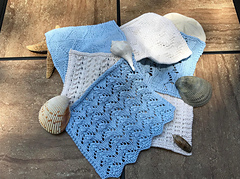 Touch of the Sea Washcloth Collection