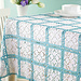 Garden Trellis Tablecloth pattern