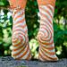 Oaks Park Socks pattern