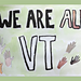 We Are All Vermont Banner pattern