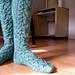 Owl Knee Socks pattern