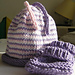 Helix Striped Cap pattern