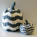 Chevron Pumpkins pattern