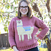 Llama Love Sweater pattern