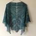 Old Shale Lace Shawl pattern