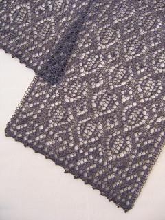 Happy Trails Lace Scarf