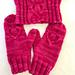 Lonely Hearts Mittens & Ear Warmer pattern