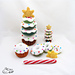 Donut Christmas Tree Stacking Toy pattern