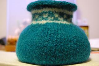 "felted ""Pueblo Vase"""