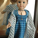 Doll Lace Wrap pattern