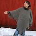 Striped Poncho pattern