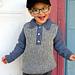 Trendsetter Boy's Sporty Brioche Sweater pattern