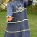 Blue Porcelain Girl's Lace Dress pattern