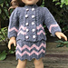 American Girl Doll Chevron Jacket pattern