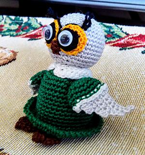 Ravelry: An Owl Is Born... pattern by Uljana Semikrasa | 320x300